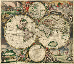 The nations, 1698. Image: Wikimedia commons