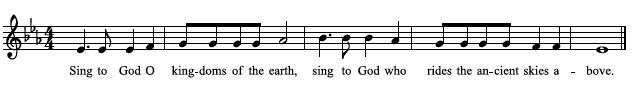 Ps68 Antiphon Tune 1Jun14