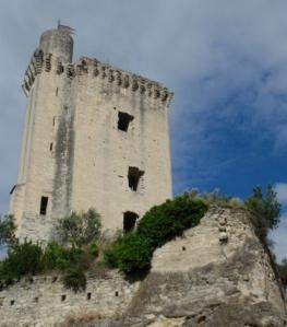 Some translations use 'castle' instead of 'refuge'.