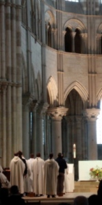 Evensong, Basilica Vézelay