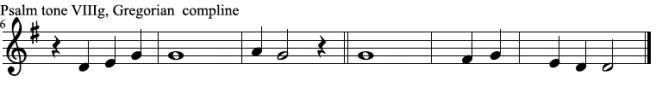 Psalm tone VIII