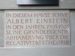 Einstein wohnhaus