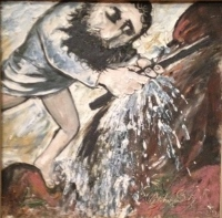 Moses strikes the rock, Arthur Boyd