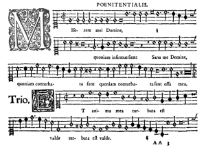 Lassus, Penitential primus