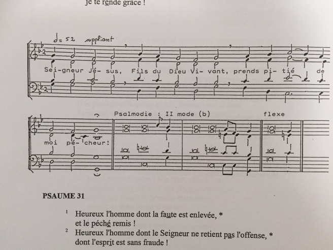 Psalm 32 French