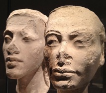 Nefertiti and Akhenaten, 1340 BCE