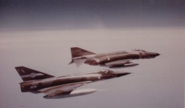 Mirage III and Phantom F4 returning to Darwin