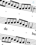 Detail of synchronous ornamentation in Psalm 52 by Lassus
