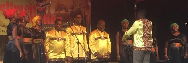 African gospel in Berlin