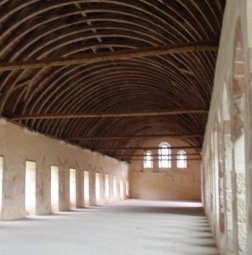 Dormitory for monks and pilgrims, Fontenay Abbey