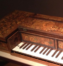 Virginal in the Berlin museum of instruments