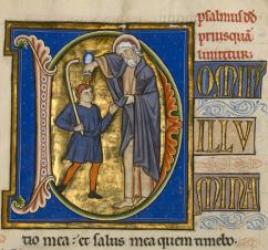Psalmus David, priusquam liniretur. Dominus illuminatio mea et salus mea: quem timebo?