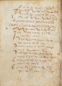 Tiironian manuscript